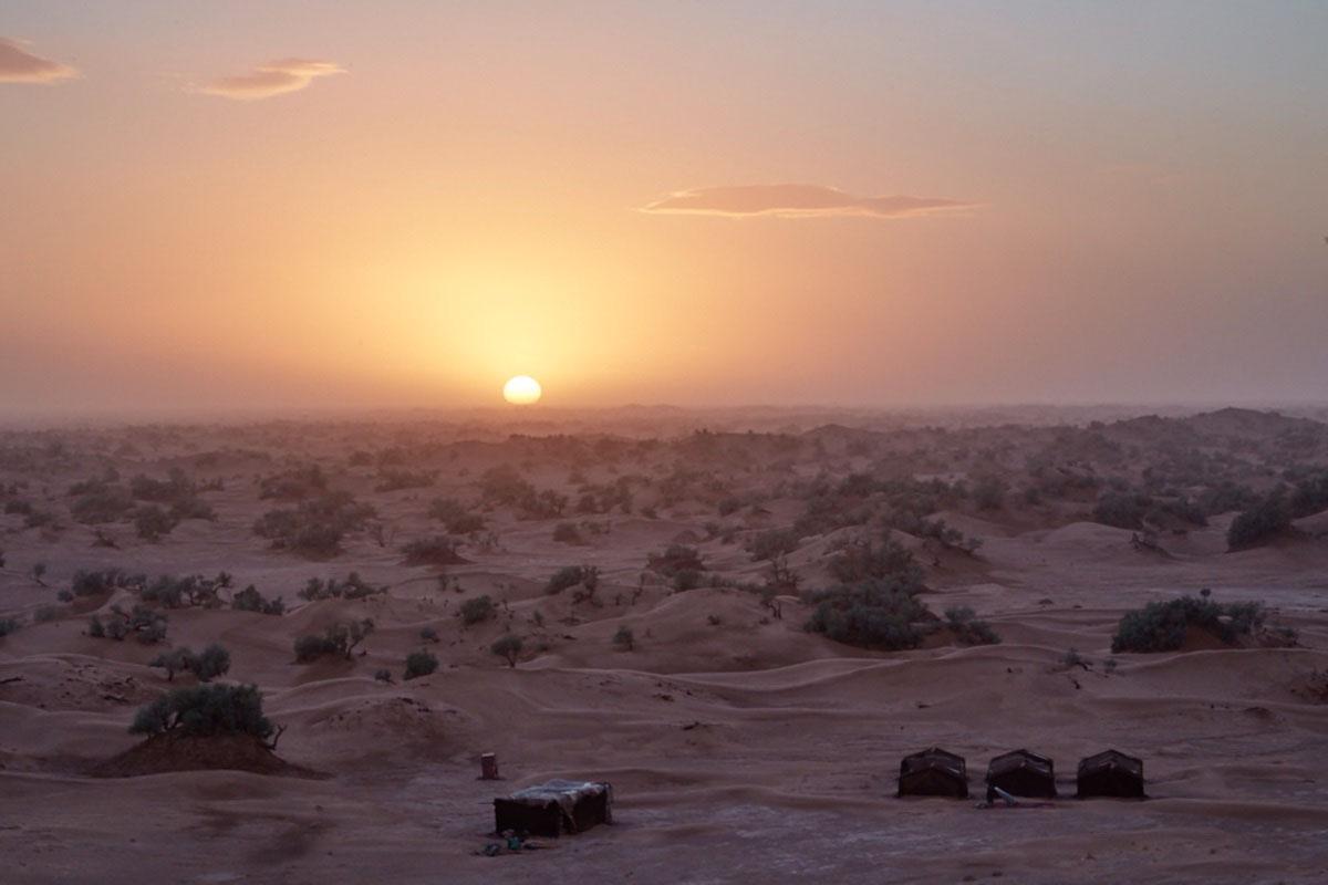 randonnée chameliere Jebel Bani
