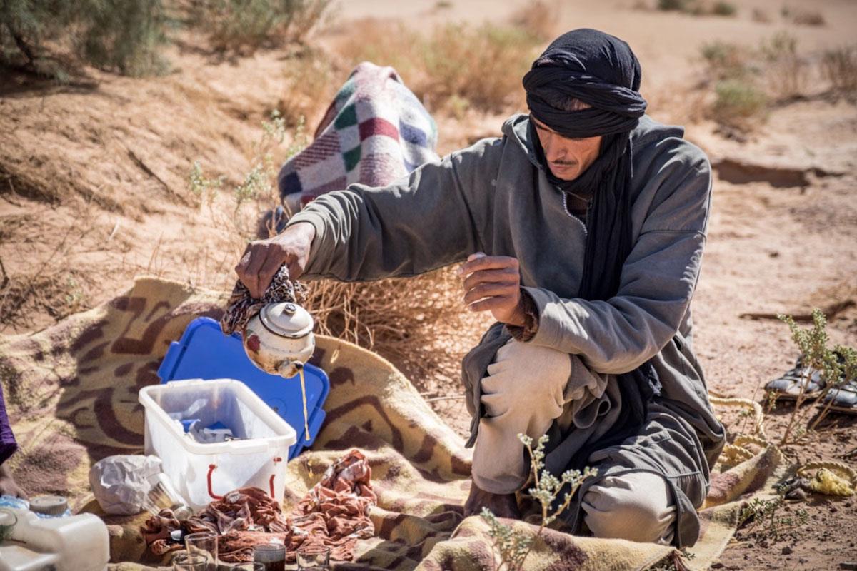 randonnées chamelières au maroc