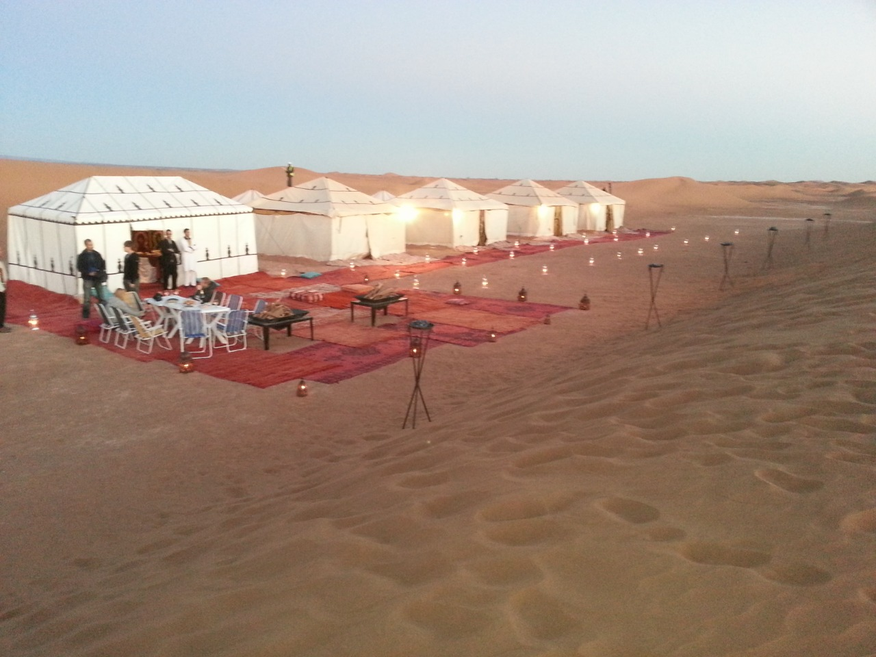 bivouac luxe maroc