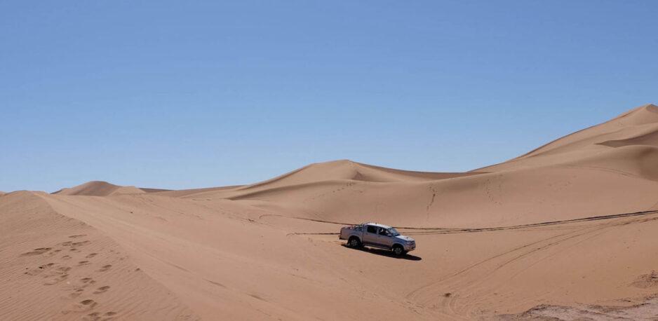 circuit désert au maroc